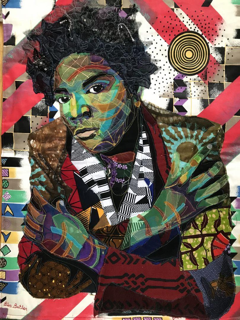 Bisa Butler Jean Michel Basquiat 2016