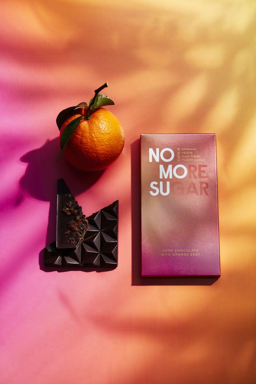 Here Design creates nature-inspired visual identity for new sugar-free chocolate