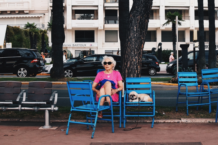 Nouveau Riche - Talia Rudofsky: Taken in Cannes, France 2015. (Youth Portraiture)