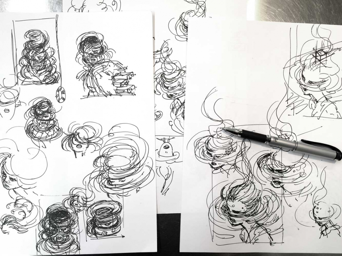 Black Box sketches, for Wired