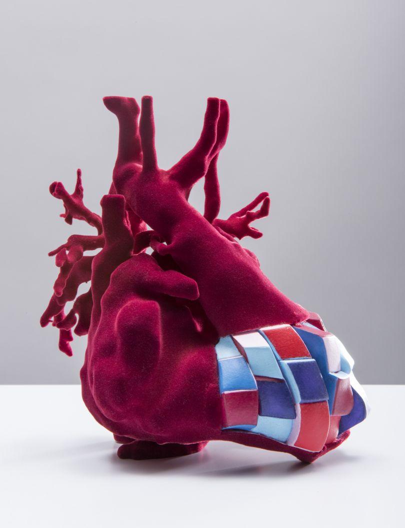 Rubik's Heart I, Sofie Layton (2018).