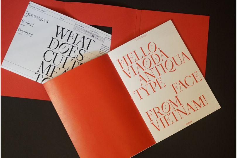 Viaoda Libre Typeface, Gydient, 2020
