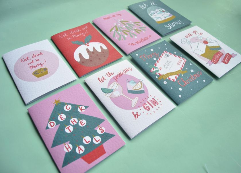 Christmas Cards by Laura Barnes