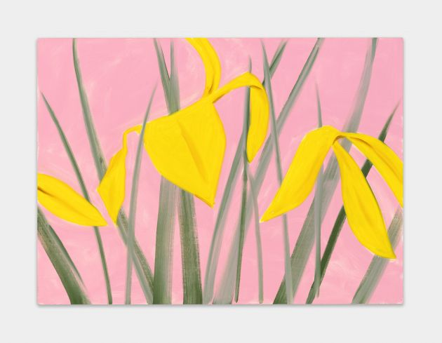 Alex Katz, Iris 2, 2019. © [2019] Alex Katz / VAGA at Artists Rights Society (ARS), NY