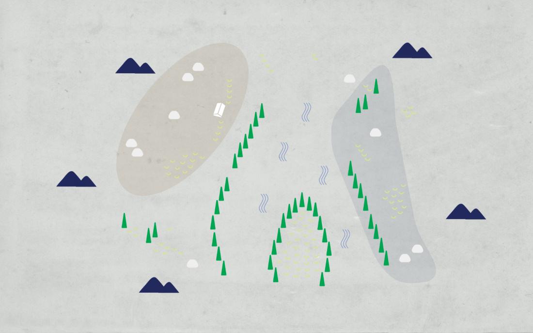 Una Lee Creates Digital Interactive Sound Map Of An Imaginary Island Creative Boom