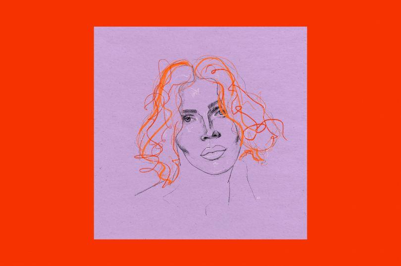 Ben Eli, Portrait of Sophie Xeon, 2021