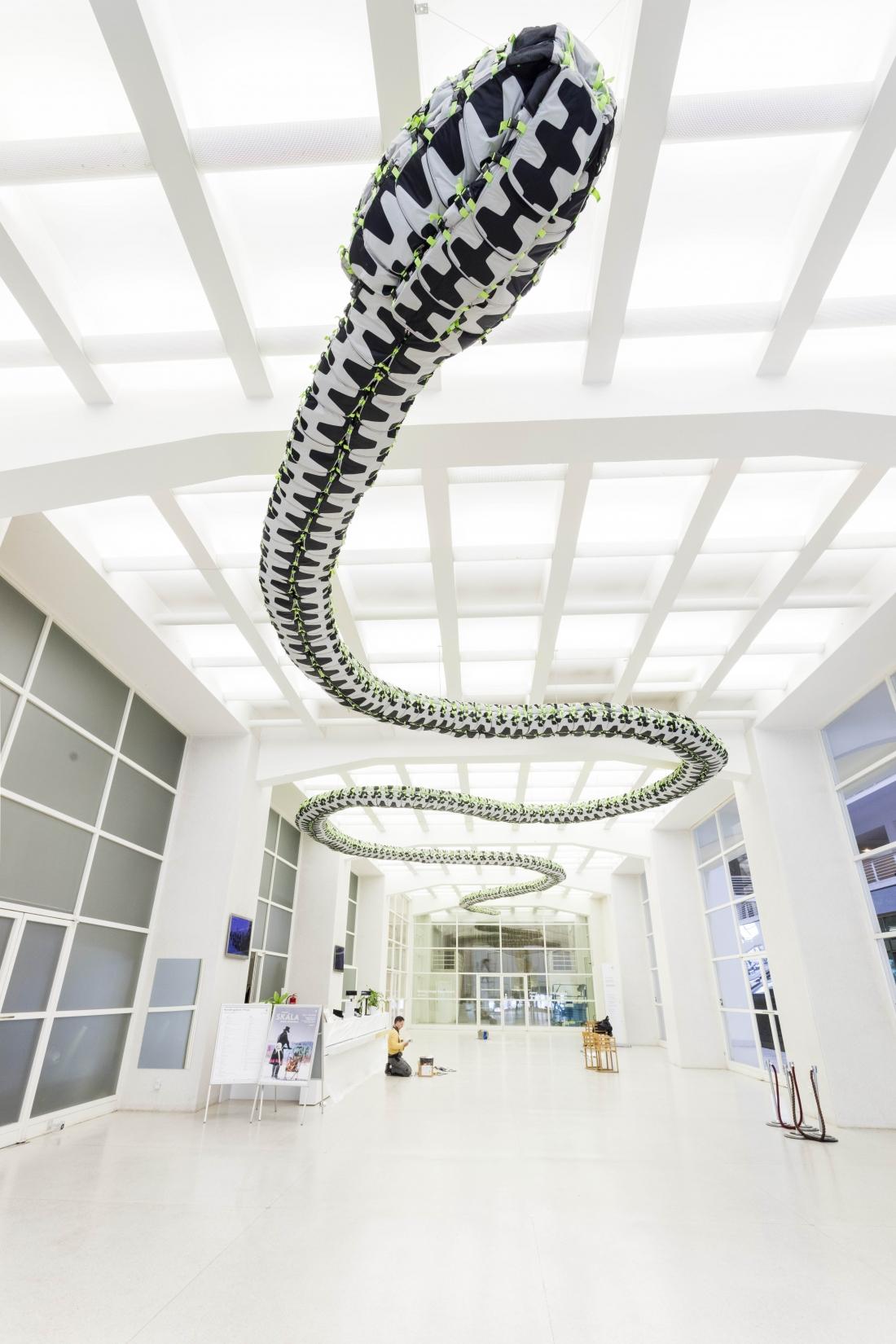 Snake Ceiling, Ai Weiwei