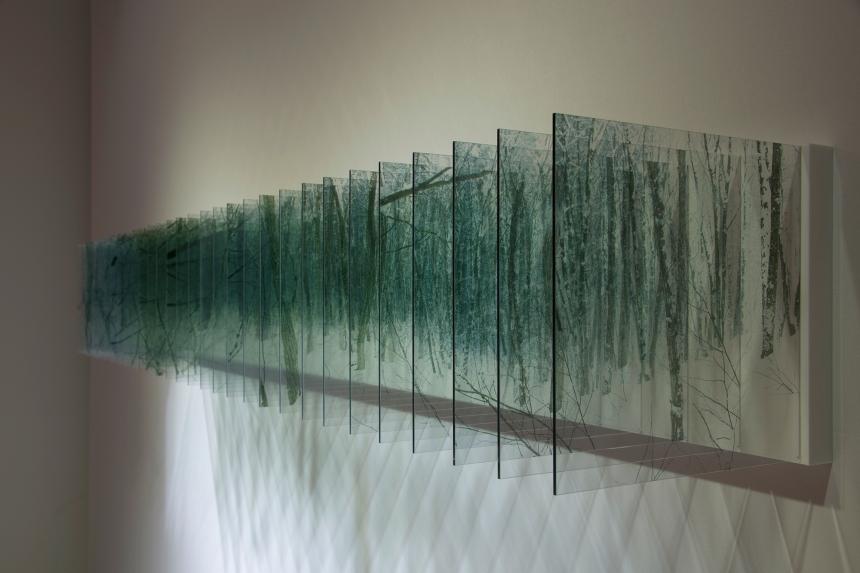 layered drawings artist creates intriguing layered