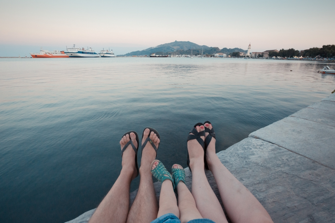 Feet First: Photographer Documents His Family's Travels By