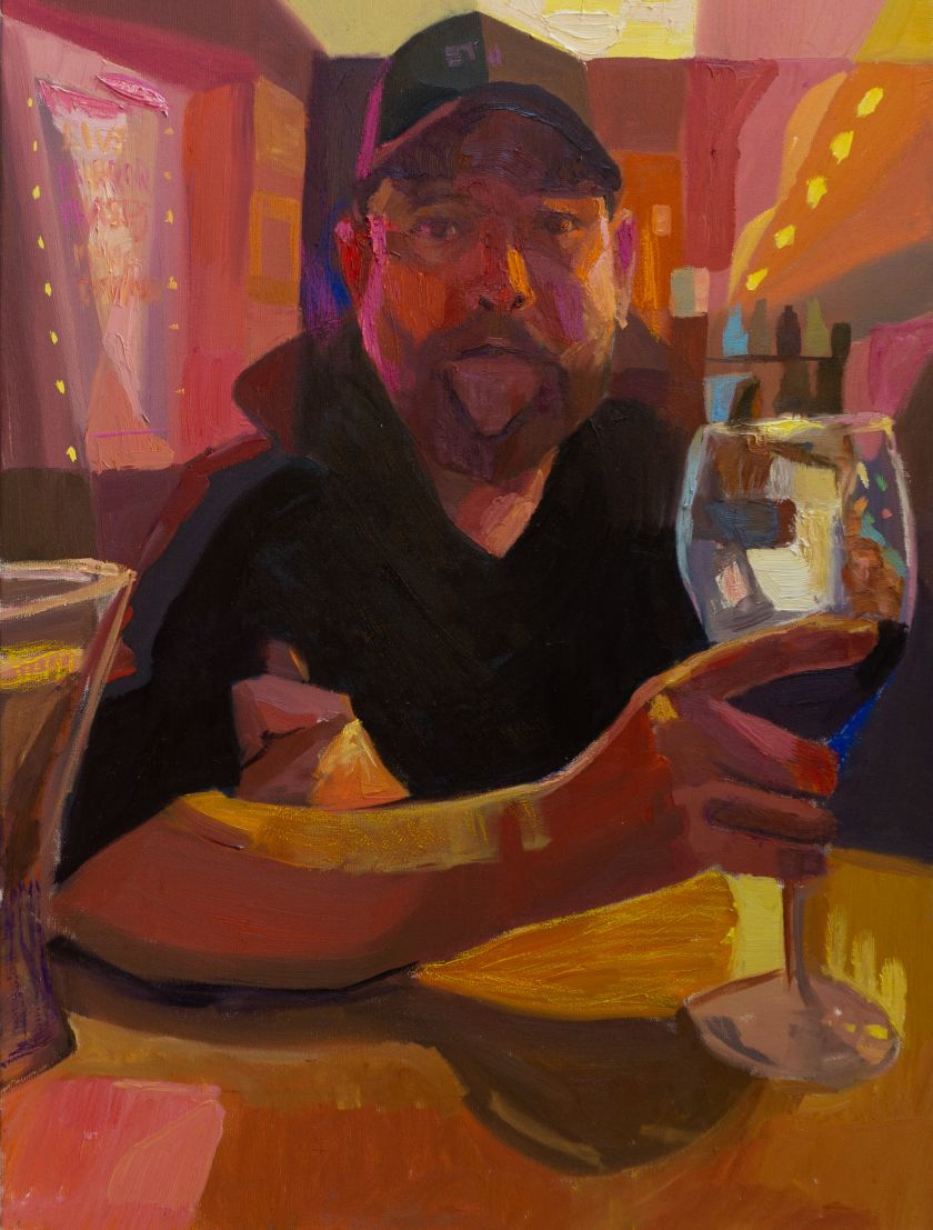 Mikey Yates, Jeremiah at No Name Bar, 2021, courtesy of the artist and Taymour Grahne Projects