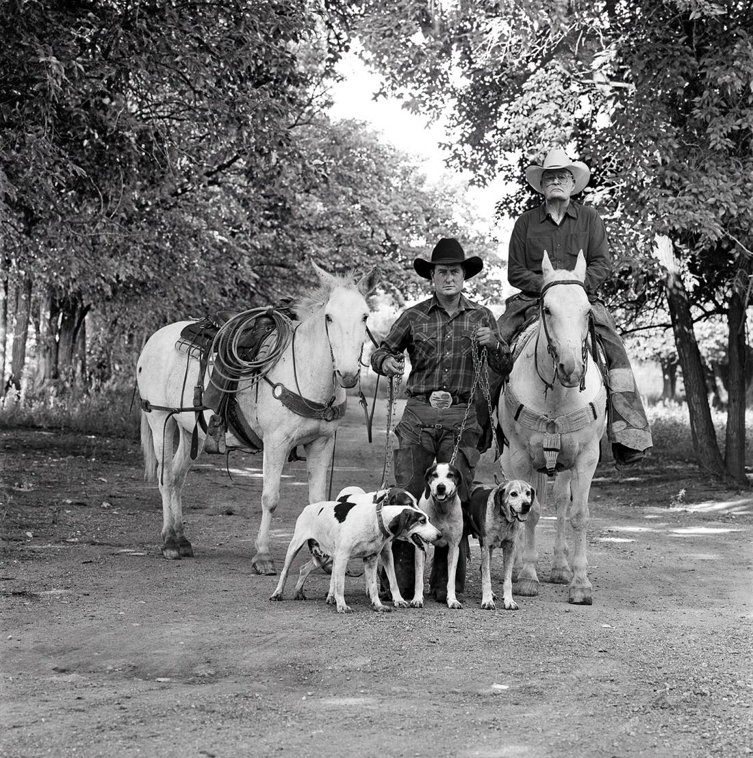 Laura Wilson, Mountain Lion Hunters, Fort Davis, Texas August 1, 1991