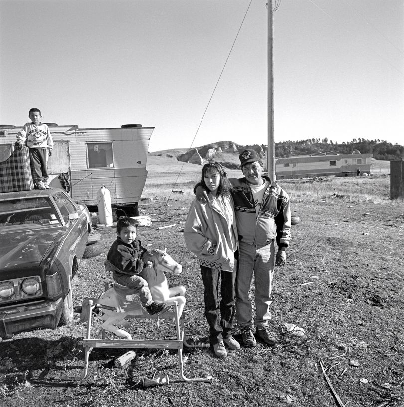 Laura Wilson, Oglala Sioux Family, The Pine Ridge Reservation, South Dakota December 14, 1996