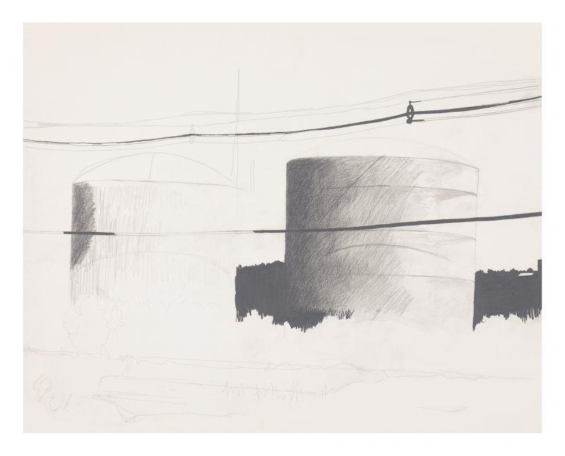 Allan D'Arcangelo Urban Landscape #2, 1976–1977