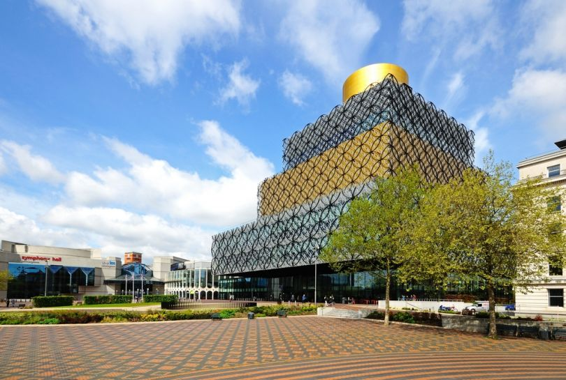 The new Library of Birmingham | Image credit: Arena Photo UK / Shutterstock.com