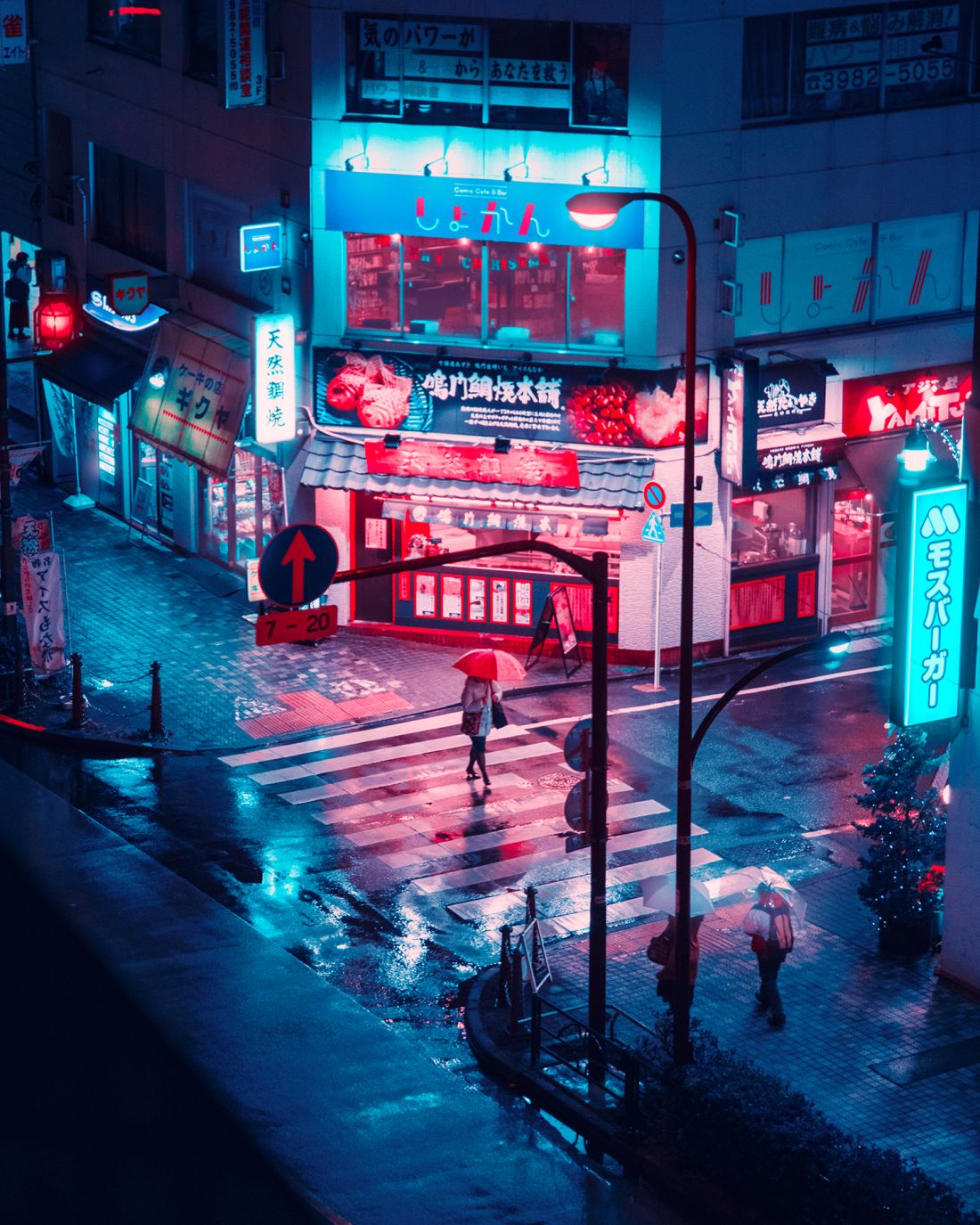 "Davide Sasso's seductive ""video game inspired"" photographs of a neon-lit Tokyo at night"