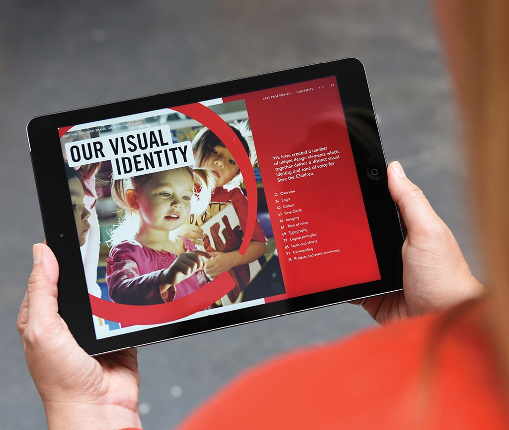Save the Children – creating a unified brand for an international charity