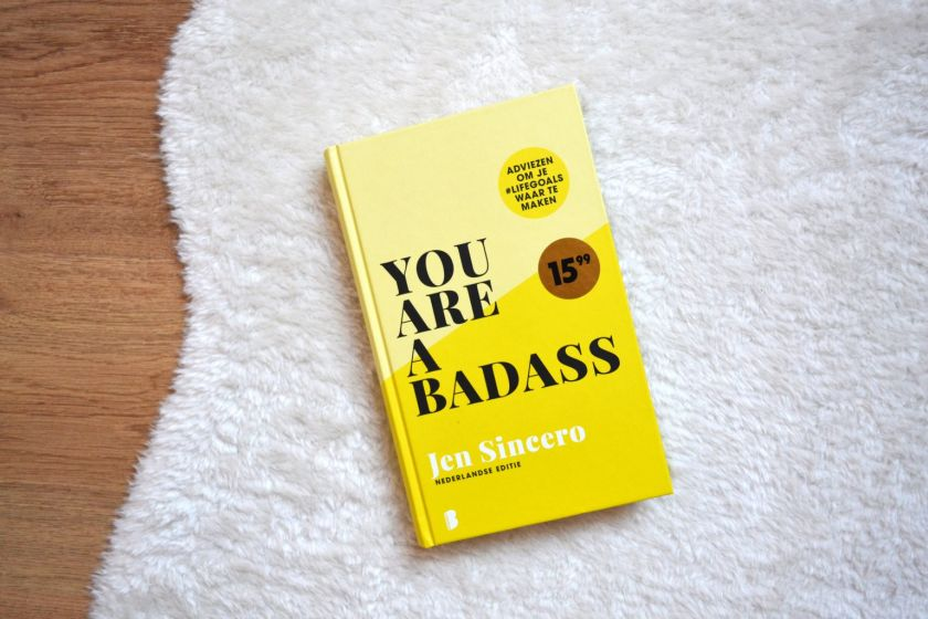 You are a badass (image courtesy of Freelennse blog book review)