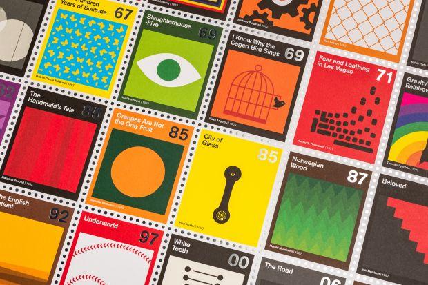 Stamp Books: Modern