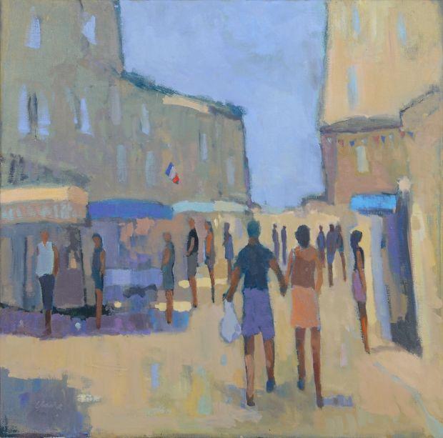 Market Day, Provence © Michael G. Clark