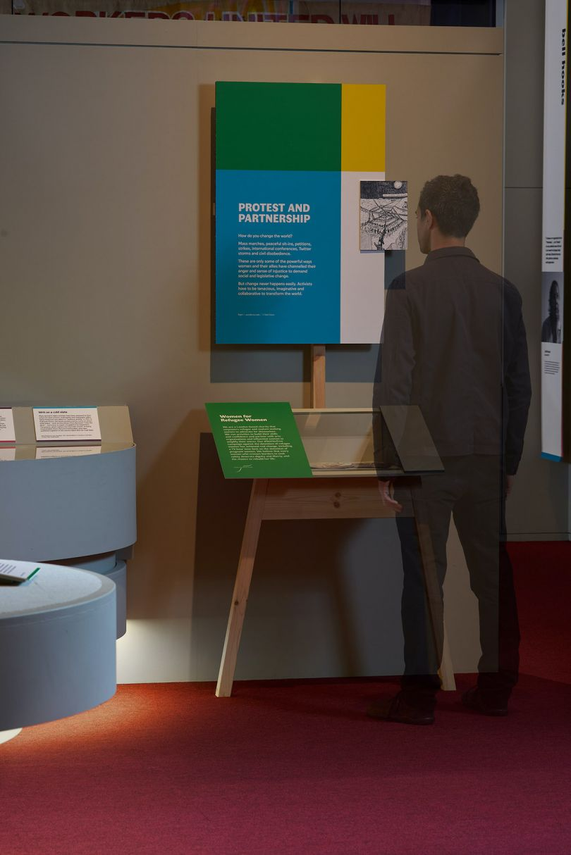Plaid and Lombaert Studio, Unfinished Business exhibition design