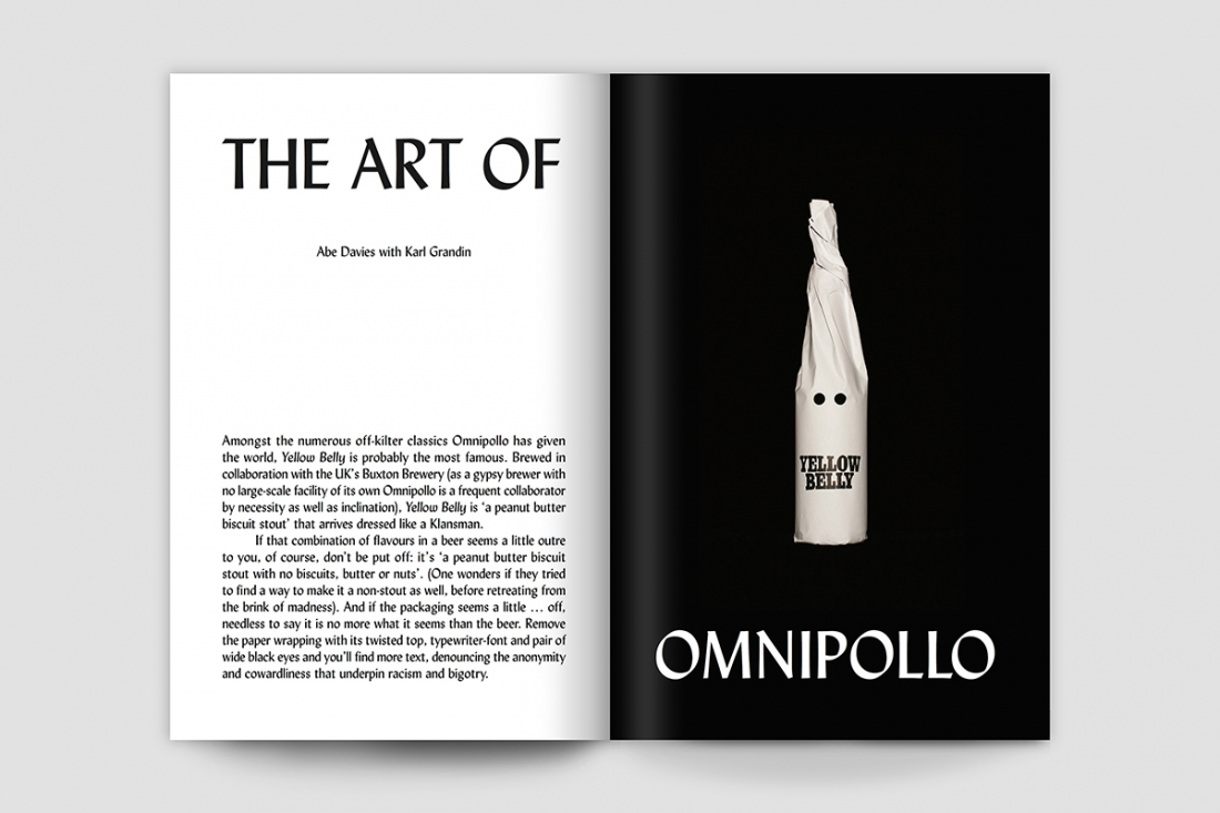 Caña Magazine Issue One: Karl Grandin/Omnipollo