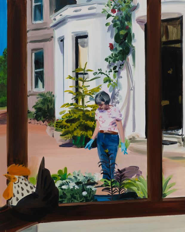 Caroline Walker Planting Decisions, Early Afternoon, May, 2019. All images courtesy of Ingleby and the artist