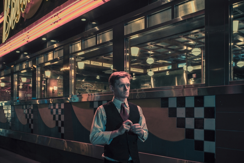 Michael Wetherbee, actor and server at Brooklyn Diner
