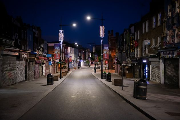 Camden High Street, 2 May 2020 © Jan Enkelmann