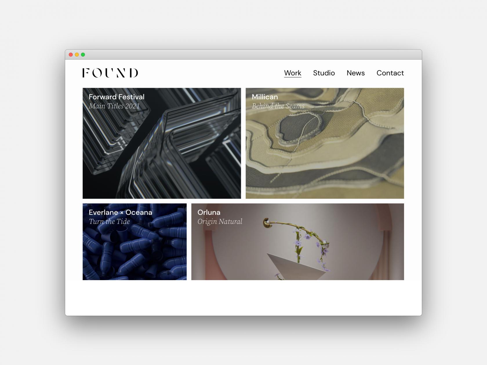 Studio Output creates 'Google-first design system' for 3D motion design studio Found
