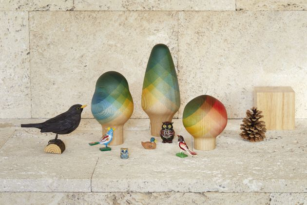 Image of limited-edition Herringbone Trees by Vitra, courtesy of [Really Well Made](https://www.reallywellmade.co.uk/collections/christmas-shop/products/herringbone-trees-limited-edition?variant=31039078498340). All other images courtesy of those featured
