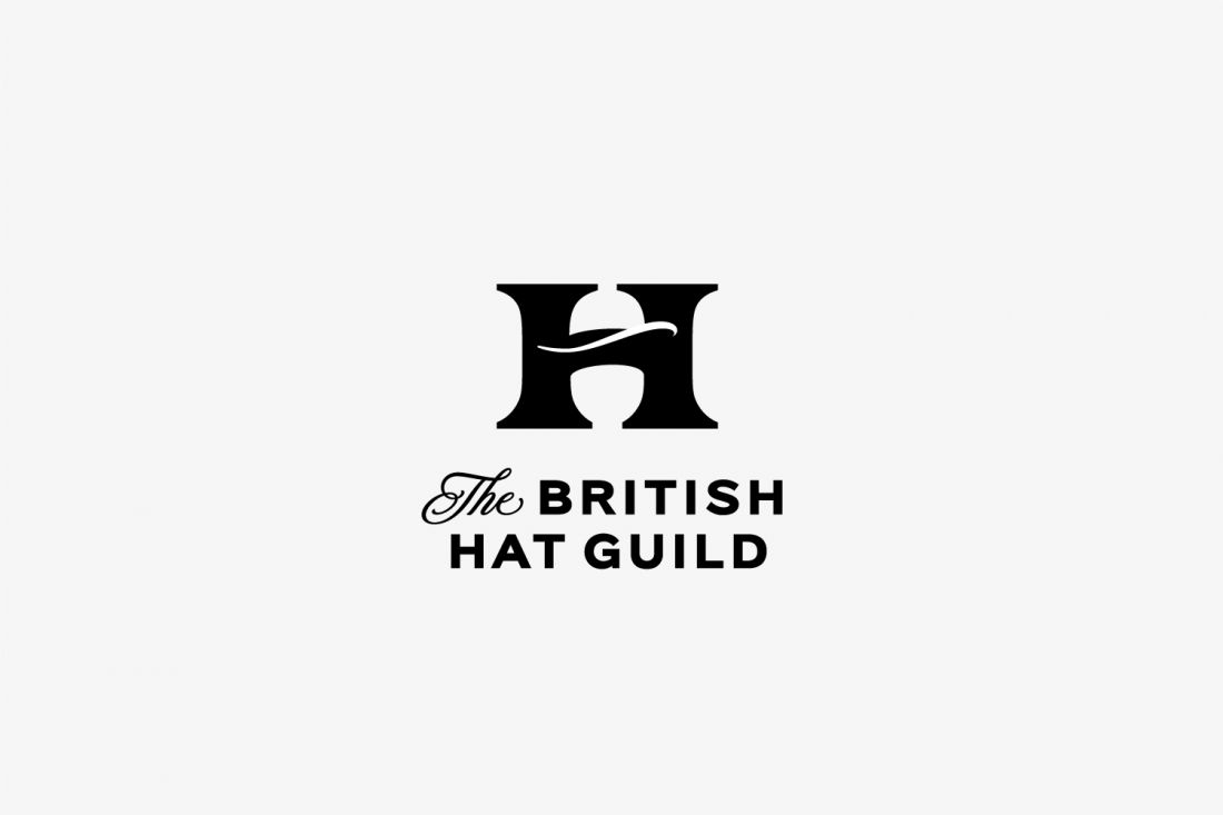 Who wants to be a milliner? Great branding here from Counter Studio for the British Hat Guild.
