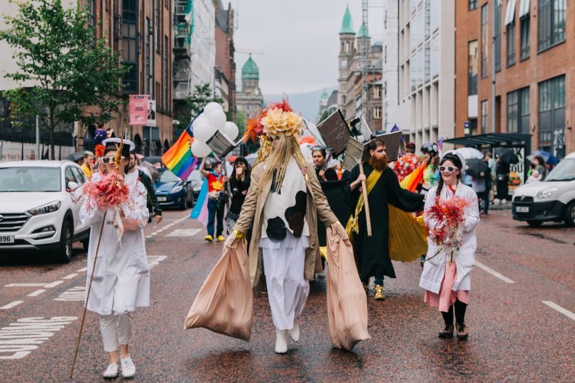 Array at Belfast Pride 2019, Belfast, 3 August 2019. All images via submission, courtesy of Jerwood Arts.