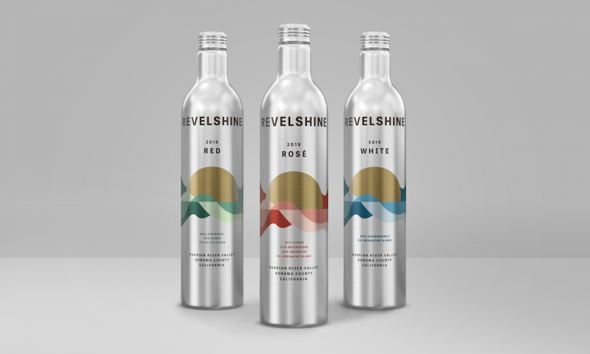 Motto creates 'first of a kind' aluminium-bottled wine packaging