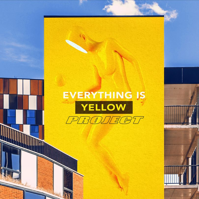 Project Yellow Brand Promotion by Yu Chen. Silver A' Design Award Winner in the Graphics and Visual Communication Design Category, 2019-2020.