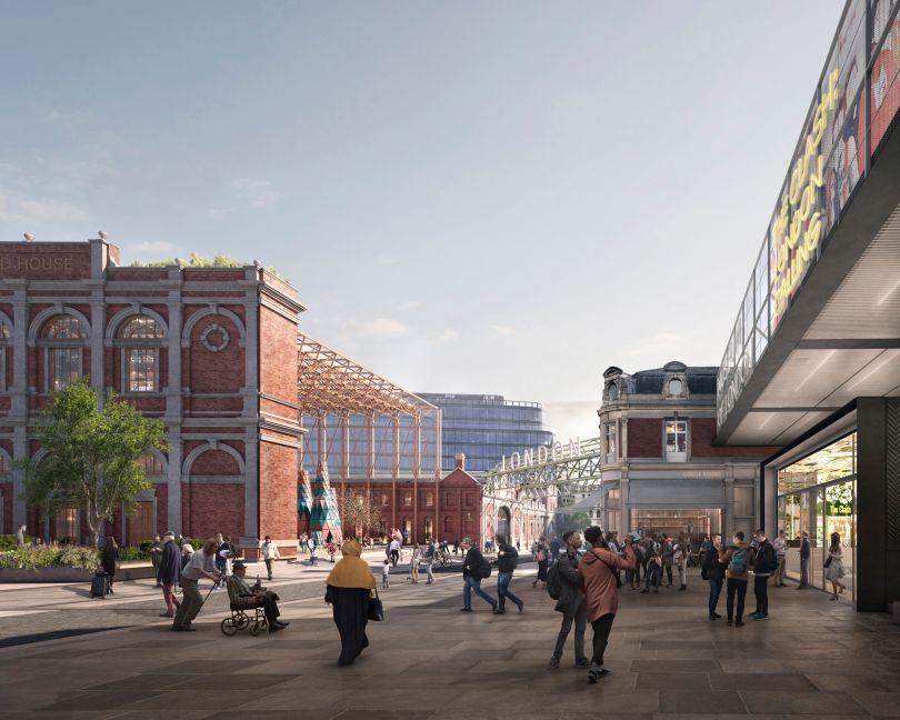 Proposed Campus © Secchi Smith