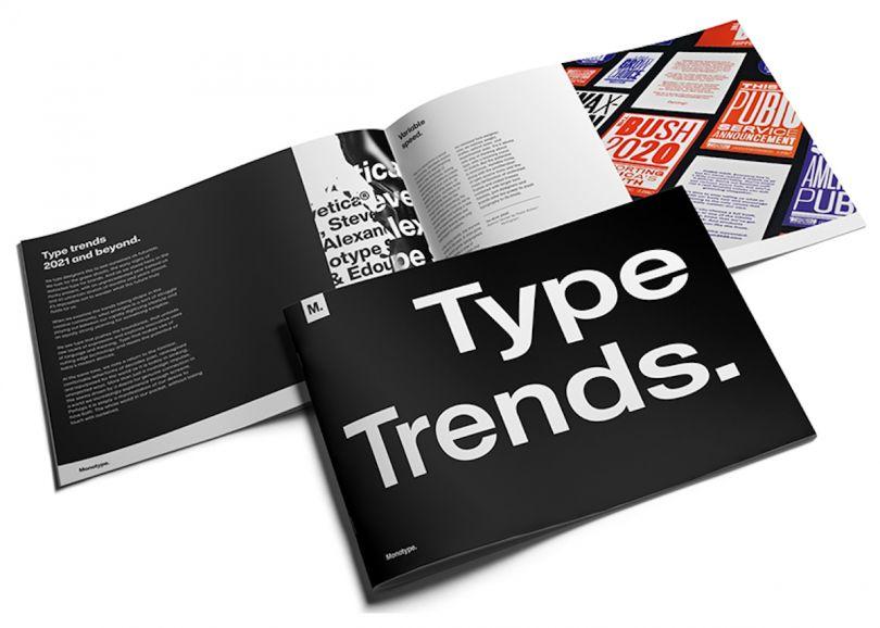 Monotype type trends