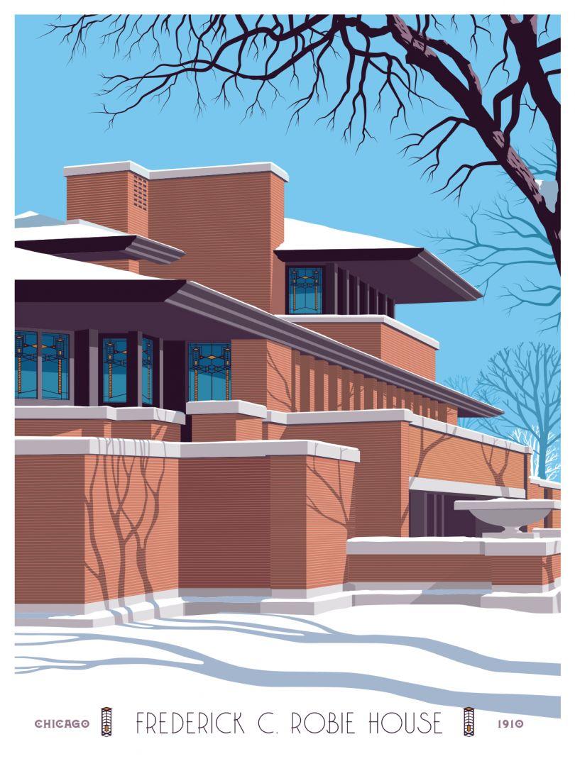 Robie House © Steve Thomas
