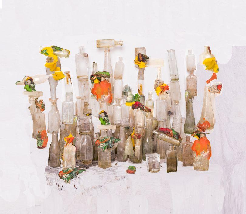 Playdough and bottles, 2016 © Nico Krijno courtesy Beetles + Huxley