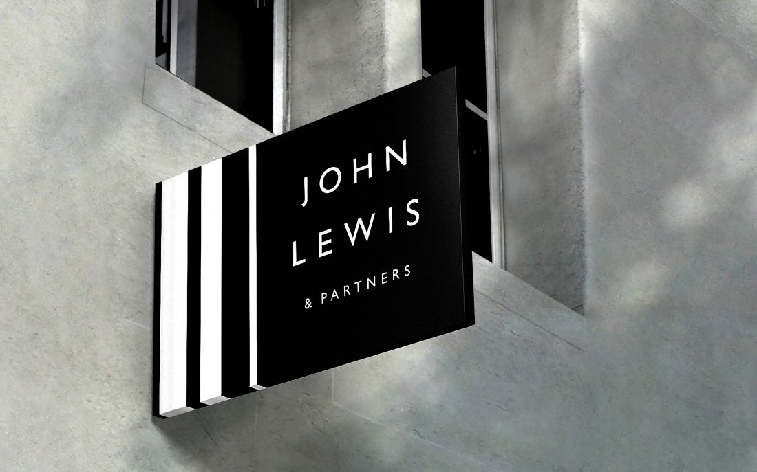 Pentagram helps to unify the brand identities for John Lewis