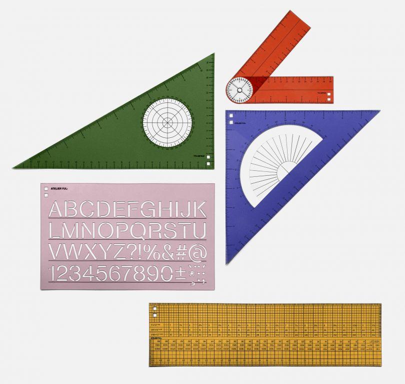 Ruler set by Atelier YUL
