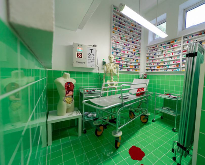 Medical Room, Lucy Sparrow © Lucy Emms