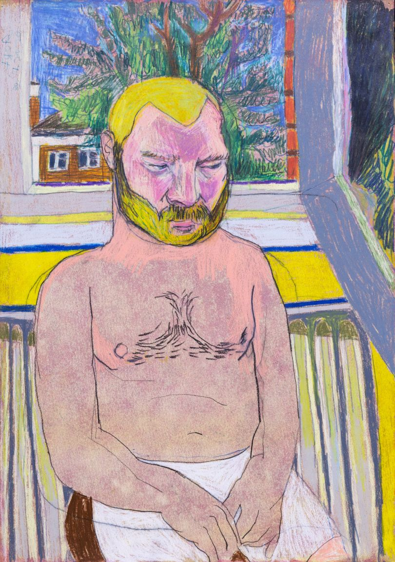 Igor Moritz, Heatwave over London, 2020 - Delphian Gallery