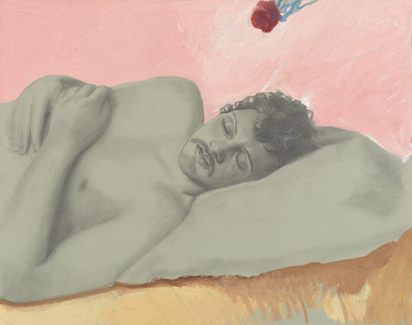 Lewis, Untitled (Rose Portrait), c. 1988