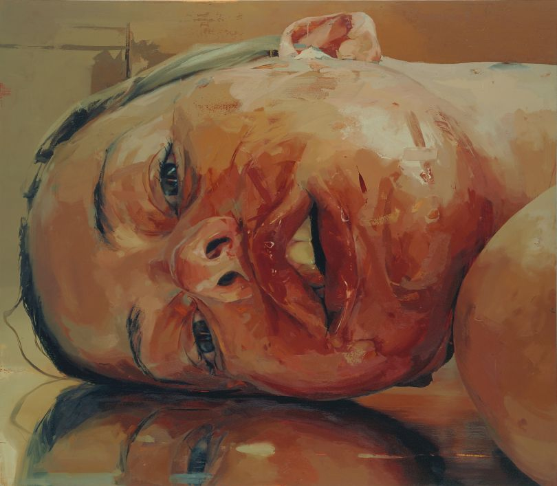 Jenny Saville (b.1970) Reverse 2002-3 Oil paint on canvas, 2134 x 2438 mm © Jenny Saville. Courtesy of the artist and Gagosian