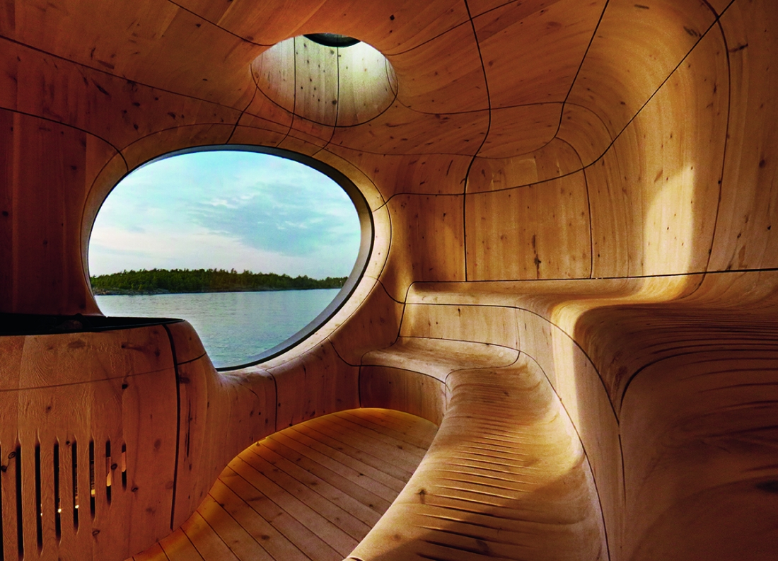 Grotto Sauna, Ontario, Canada, Partisans, 2014. Picture credit: Jonathan Friedman Photography/PARTISANS