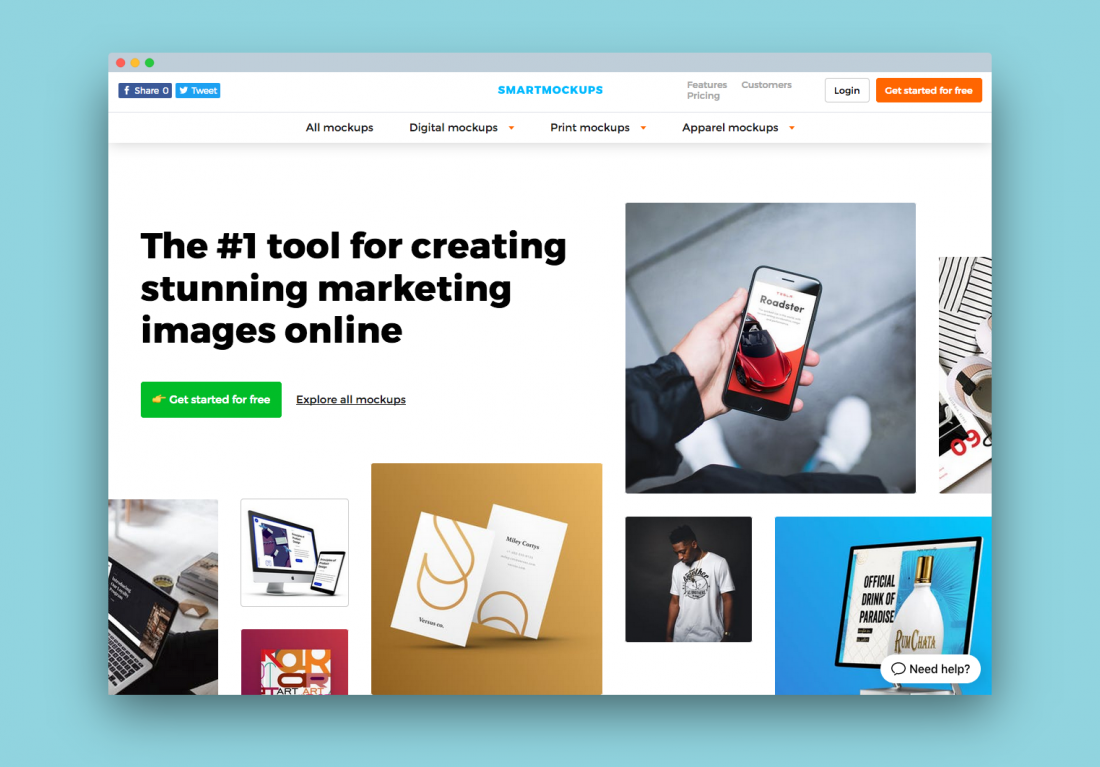 10 Online Tools To Help You Make Quick Mockup Images Of Websites