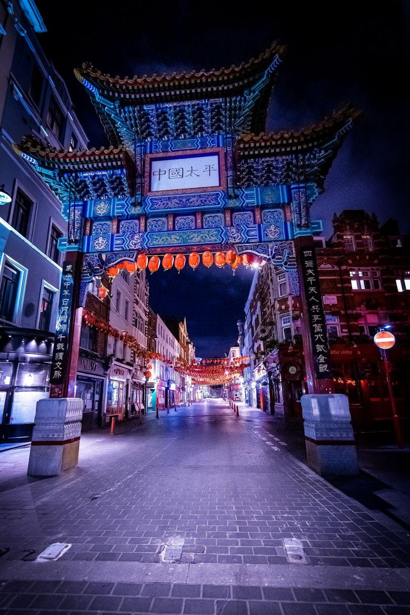 Wardour Street, Chinatown, 30 March 2020 © Jan Enkelmann