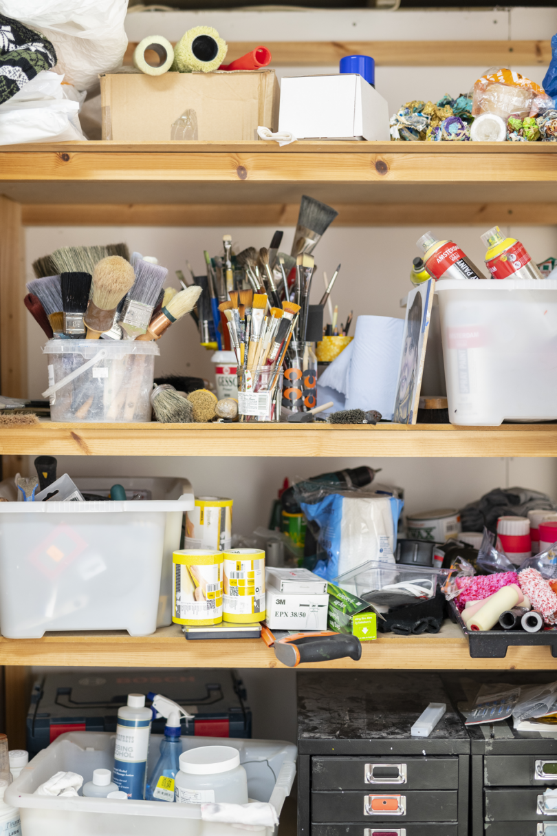 Alice Wilson's studio