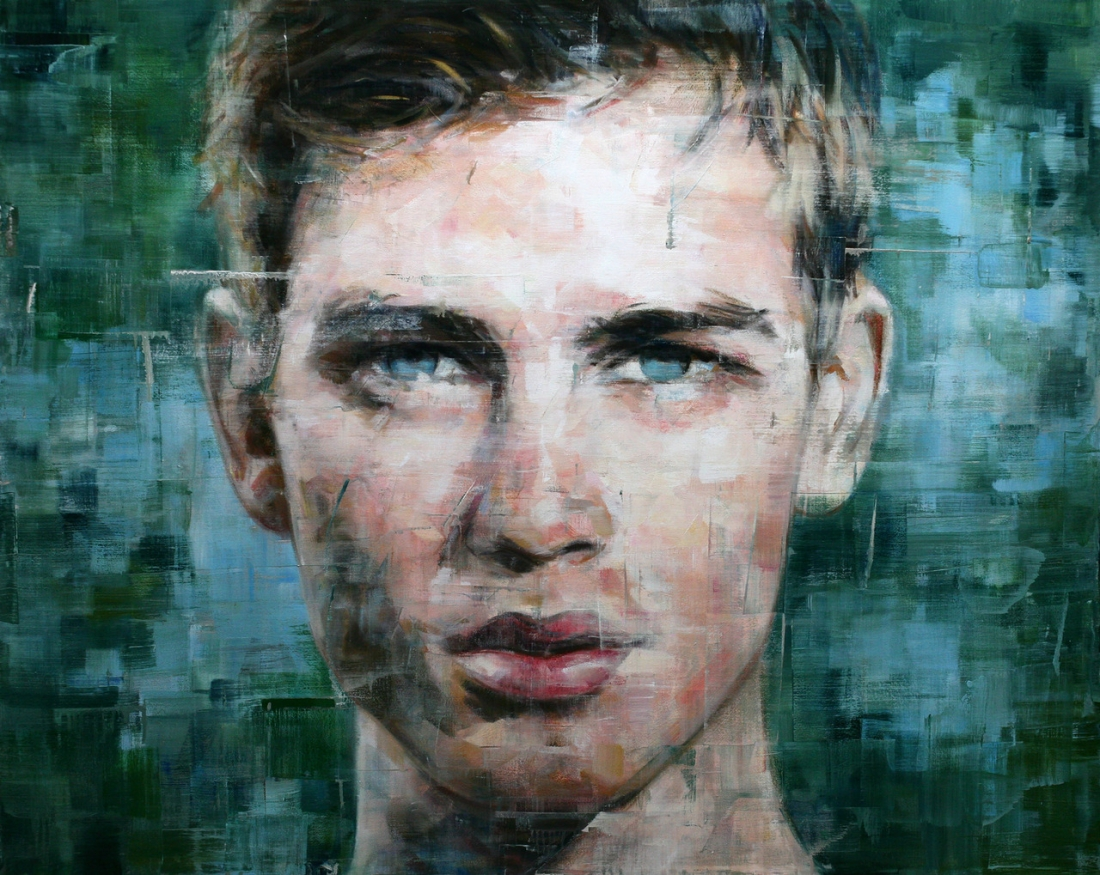 Haunting oil portraits by Harding Meyer that focus on the