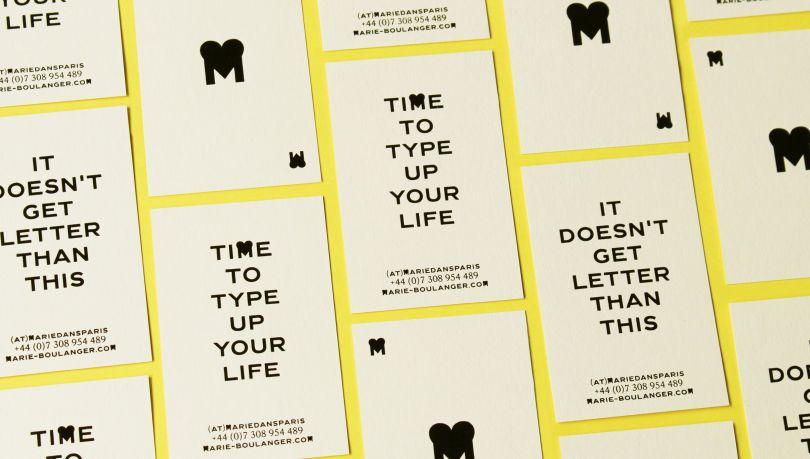 Personal Business Cards. Printed by Atelier Bulk